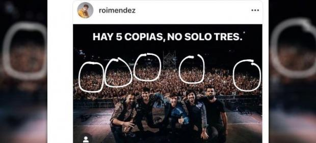 Roi Méndez multiplica a su público con Photoshop y se convierte en el blanco...