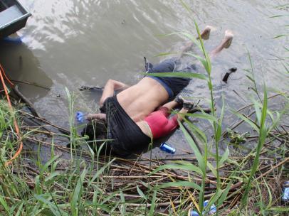 Fallecen un padre y su hija al intentar cruzar río el Bravo en México