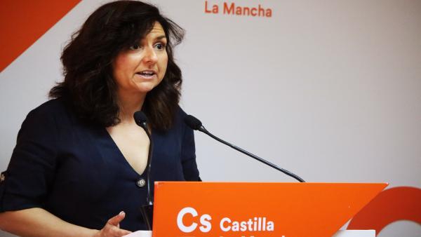 La portavoz de Cs en C-LM y miembro de la dirección nacional de partido, Orlena de Miguel.