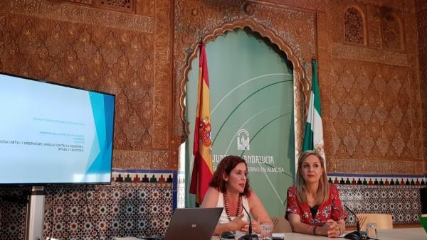 Presentación del 'Colegómetro' en la sede de la Junta