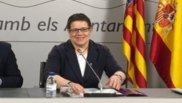 La diputada de Deportes de la Diputación de Valencia, Isabel García, en imagen de archivo