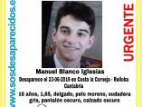 Menor desaparecido Santander