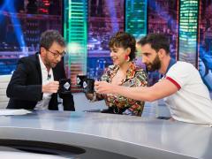 María León y Dani Rovira, en 'El hormiguero'.