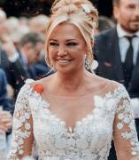 El vestido de boda de Belén Esteban