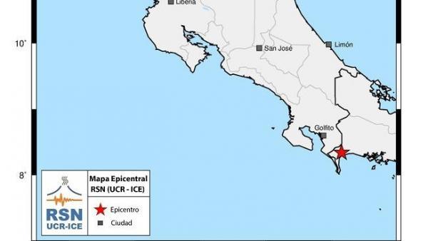 Temblor en Costa Rica y Panamá.