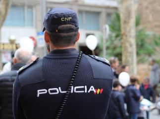 Imagen de recurso de un agente de Policía Nacional.