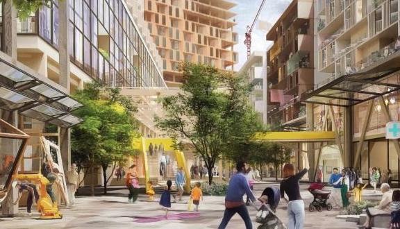 Ciudad inteligente de Google en Toronto