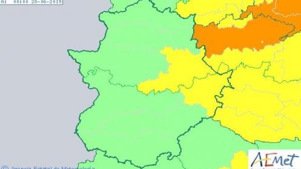 Alertas por calor en Extremadura para el 27 de junio