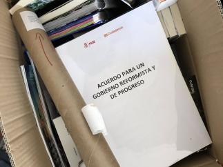 El exdirigente de Ciudadanos Toni Roldán rescata el acuerdo con el PSOE firmado en 2016.