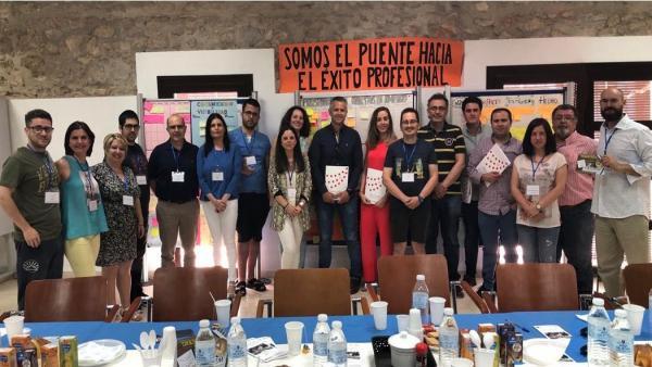 Participantes en la Lanzadera de Empleo de Puente Genil
