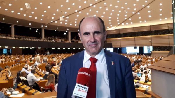El vicepresidente del Gobierno de Navarra, Manu Ayerdi, en el Comité de Regiones.