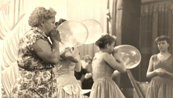 Una de las imágenes del archivo de Patrick Pound que dan forma a la exposición 'Fotografía y aire'.