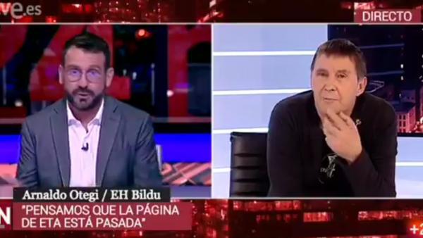 Entrevista a Otegi en TVE