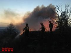 Incendio de La Torre de l'Espanyol