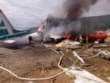 Accidente de avión en Siberia