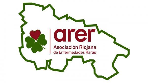Logotipo de la Asociación de Enfermedades Raras de La Rioja (ARER)
