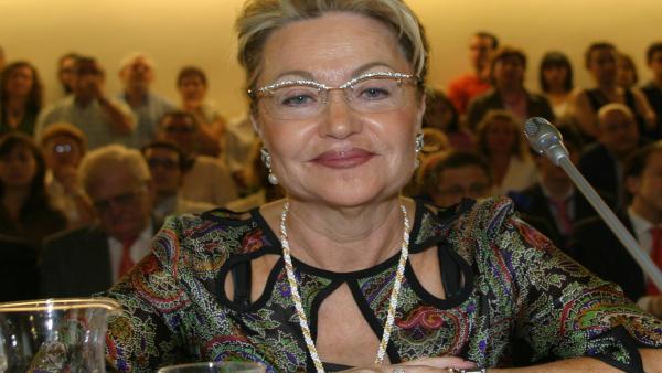 Divina López, exconcejala del PP del Ayuntamiento de Logroño, y presidenta de la AECC en La Rioja