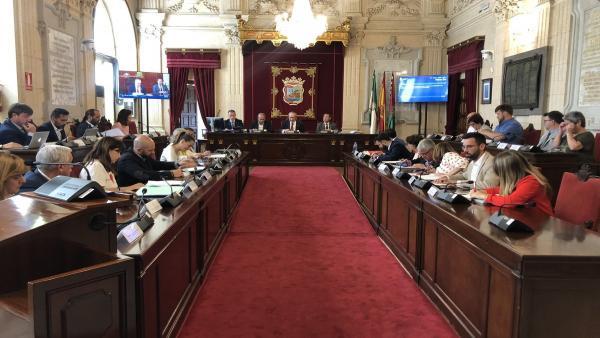Pleno del Ayuntamiento de Málaga de junio de 2019