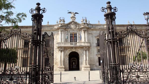 Rectorado de la Universidad de Sevilla, en una imagen de archivo.