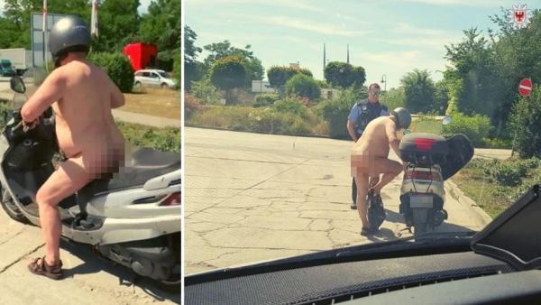 Motorista desnudo