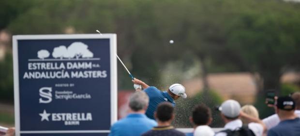 Estrella Damm Andalucía Masters en Valderrama en San Roque