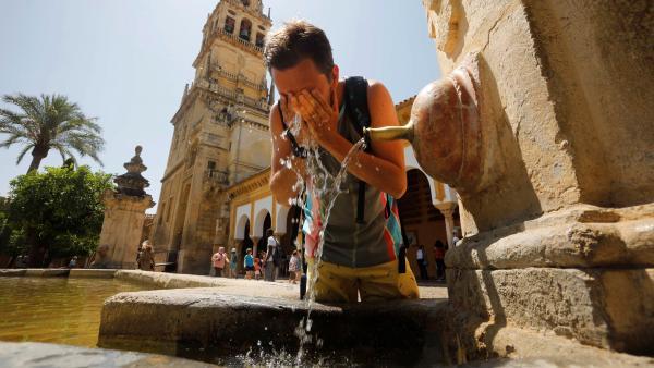 Calor en Andalucía