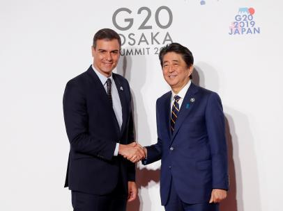 Pedro Sánchez en el G20