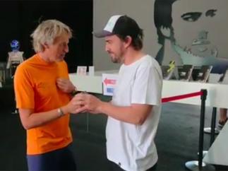 Jesús Calleja y Fernando Alonso