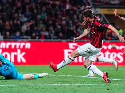 Fabio Borini, del Milan
