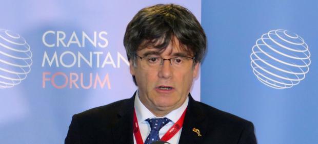 Carles Puigdemont, en Ginebra.