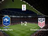 Estados Unidos supera a Francia en los cuartos de final (1-2)