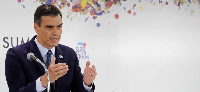 Pedro Sánchez, en el G20