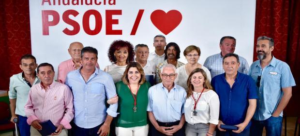 Susana Díaz este sábado en Espera (Cádiz)