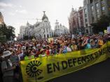 Manifestación en favor de Madrid Central