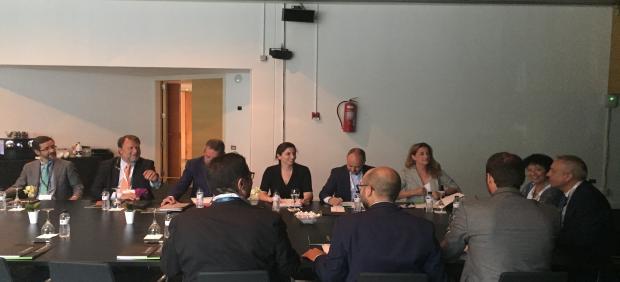 Reunión de delegados de Zona Franca