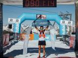 Cristofer Clemente, ganador de la Stubai Trail