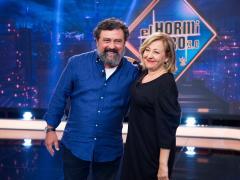 Paco Tous y Carmen Machi, en 'El hormiguero'.