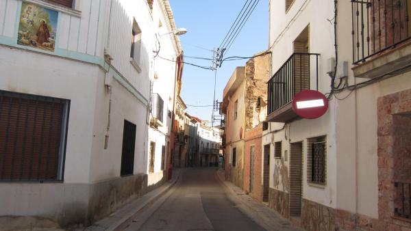 Una Calle De Grisén (Zaragoza)