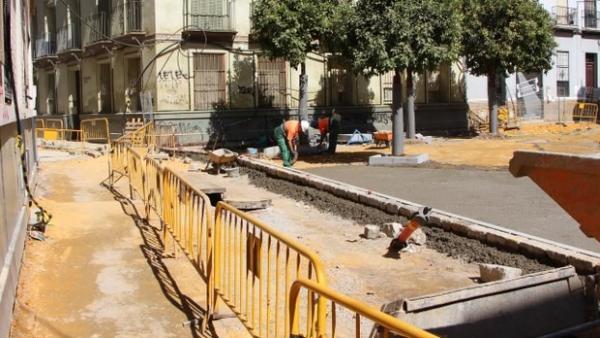 Obras en San Julián
