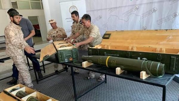 Armas de EE UU en Libia
