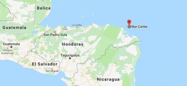 Naufragio en el Caribe