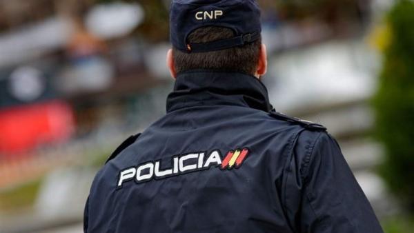 Un agent de la Policia Nacional en imatge d'arxiu