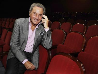 El actor Arturo Fernández durante una entrevista en 2008.