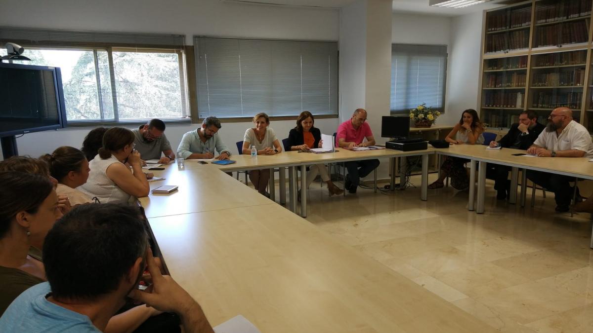 Educación.- La Junta valora el trabajo desarrollado en los centros concertados de Protección de Menores