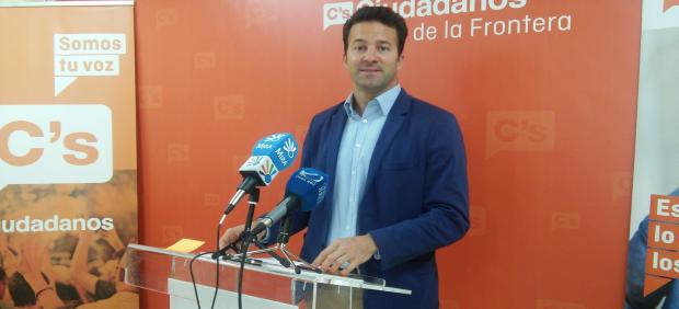 Carlos Pérez, senador de Cs por la provincia de Cádiz