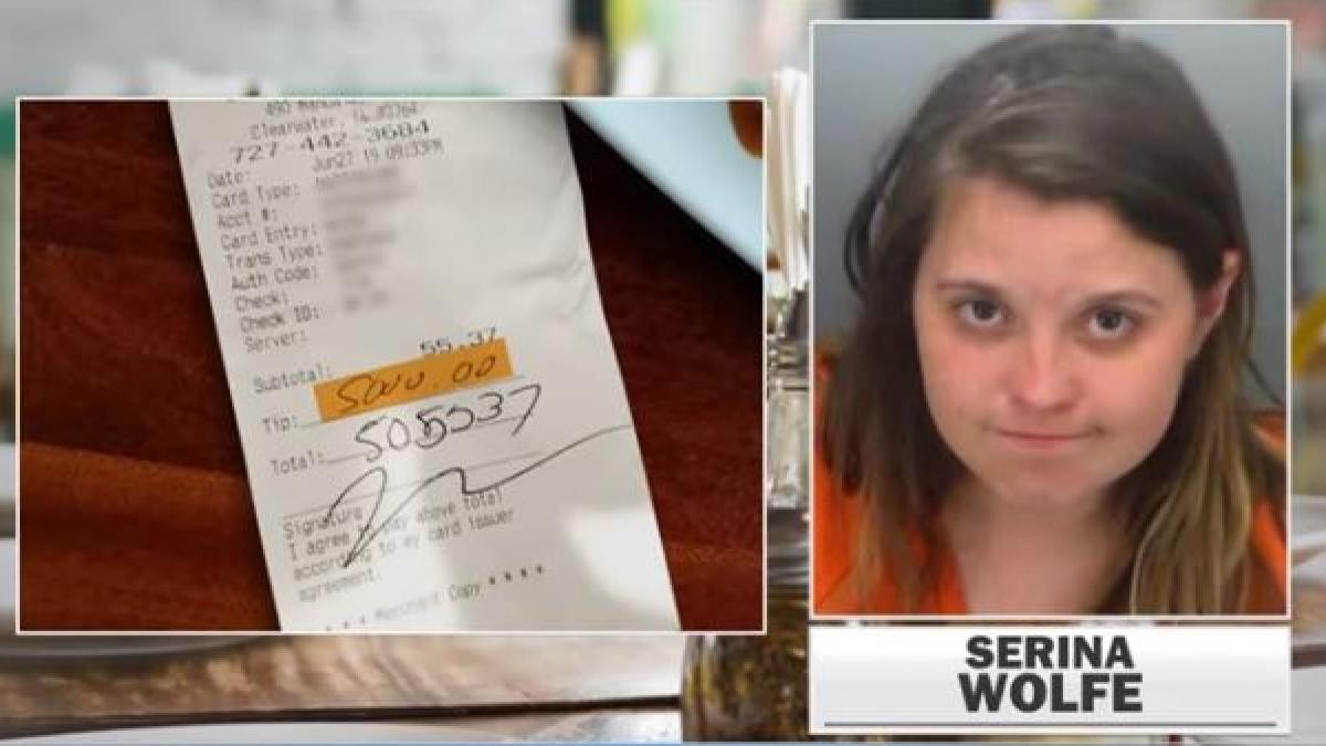 Detenida por robo tras dejar una propina de 4.400 euros con la tarjeta de su novio como venganza