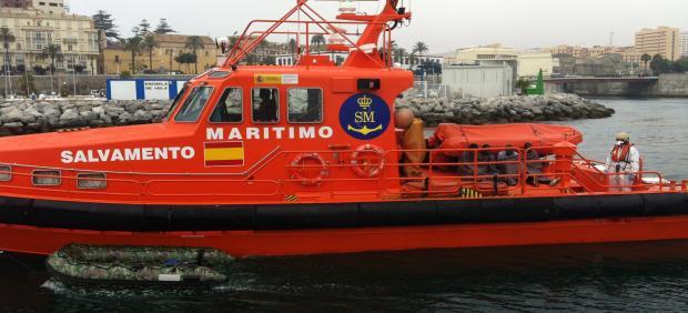 Embarcación Salvamar Gadir, con sede en Ceuta