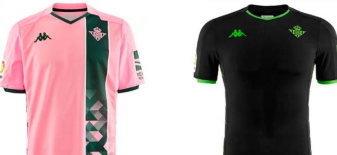 Las nuevas camisetas del Real Betis