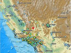 Terremoto de 7,1 en California