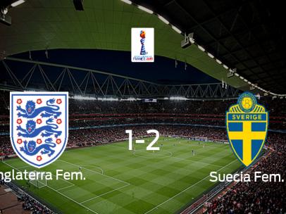 Suecia gana 1-2 la final de consolación del Mundial Femenino ante Inglaterra